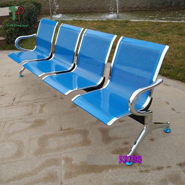 ghế băng inox 4 chổ