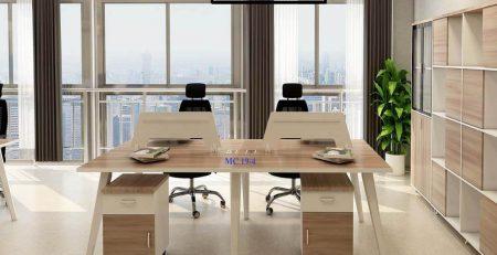 module bàn làm việc 4 người
