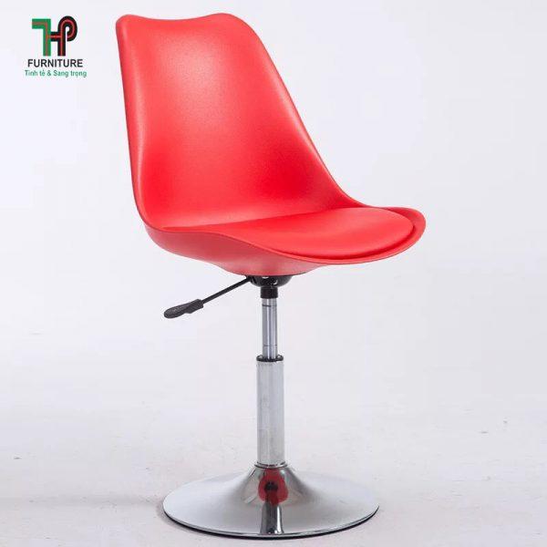 ghế nhựa chân inox