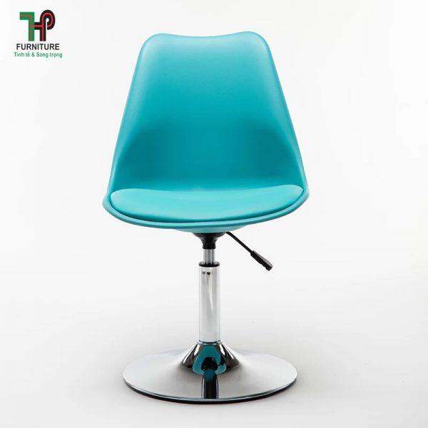 ghế nhựa chân tròn