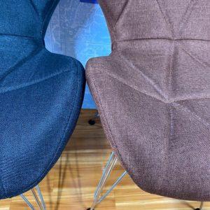 ghế ngồi vải chân sắt