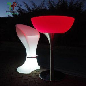 ghế quầy bar phát sáng