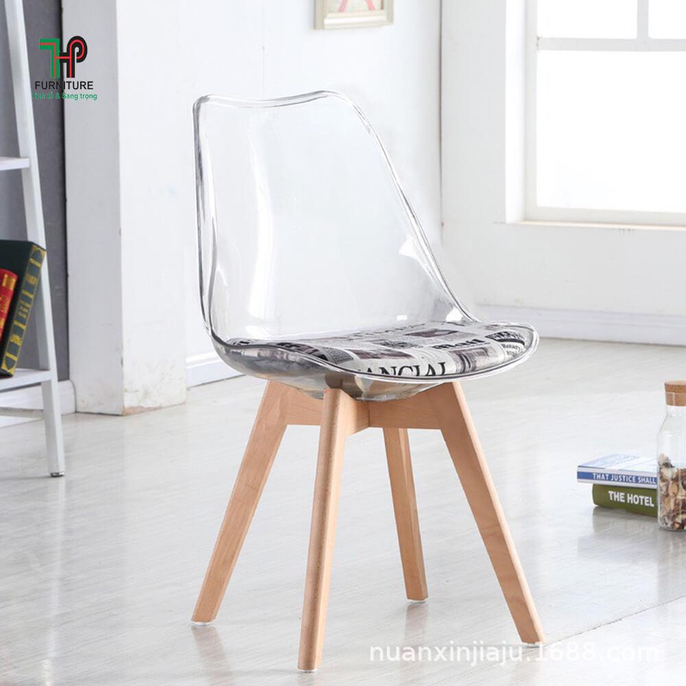 Ghế ngồi cafe nhựa
