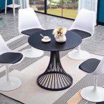 bàn ghế tròn hiện đại