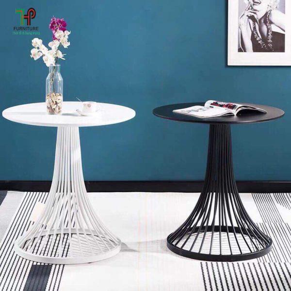 bàn tròn cafe đẹp độc đáo