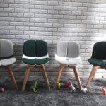 ghế đẹp chân gỗ