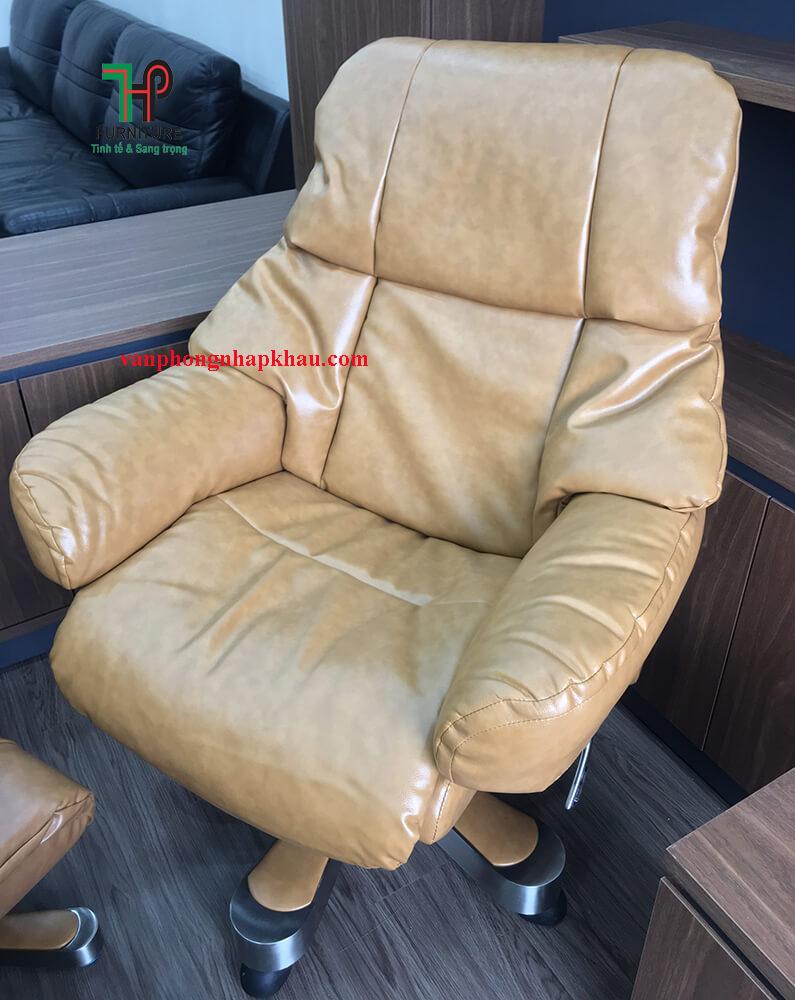 ghế da giám đốc ngã lưng đẹp