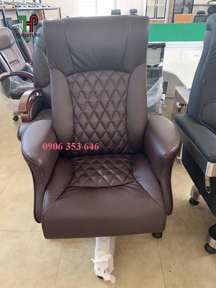 ghế giám đốc màu nâu